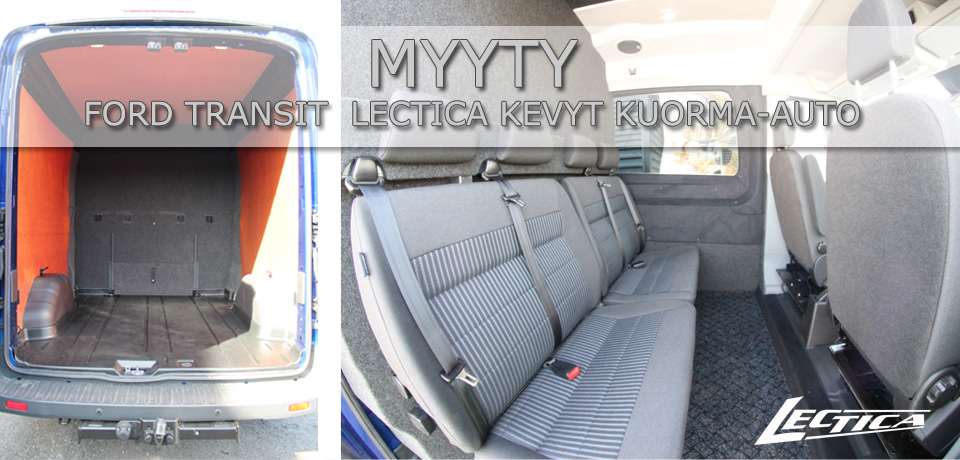 Myyty: Ford Transit Lectica Kevyt kuorma-auto 1+1+4