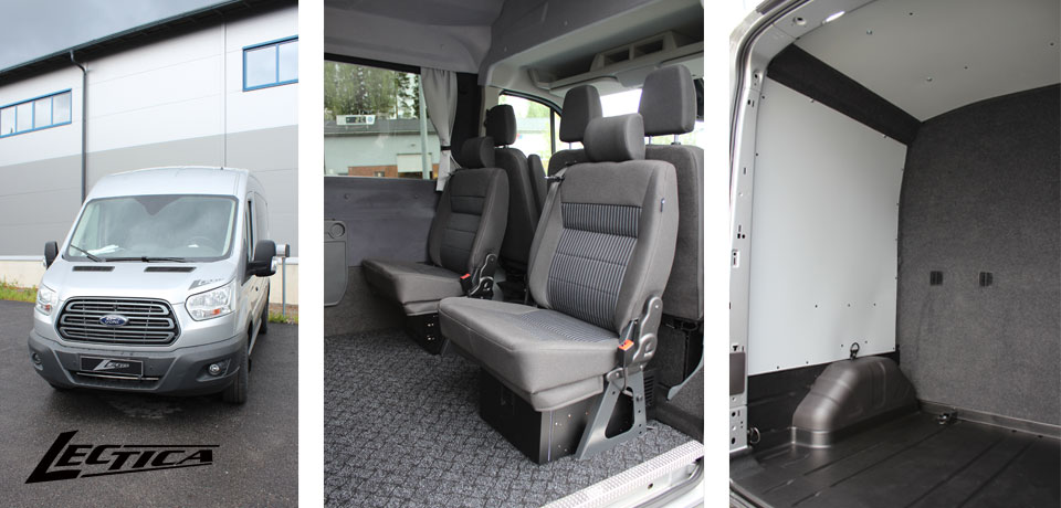 Myyty: Ford Transit Lectica Retkeilyauto 1+2+6