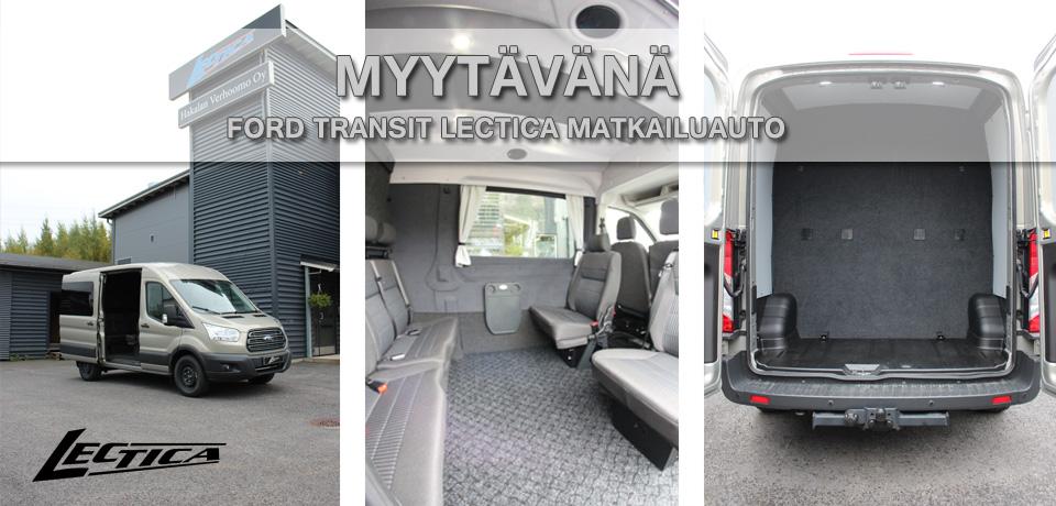 Myytävänä: Ford Transit Lectica Retkeilyauto 1+2+6