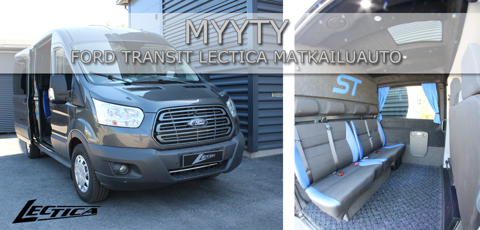 Myyty: Ford Transit Lectica Retkeilyauto 1+2+4