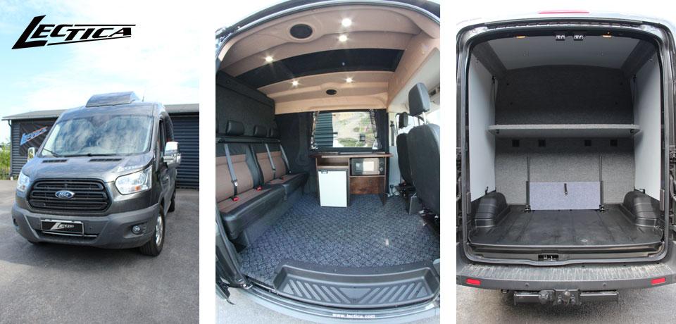 Myytävänä: Ford Transit Lectica Retkeilyauto 1+1+4