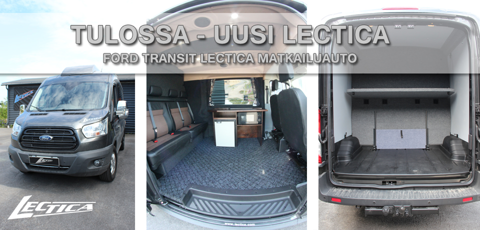 Tulossa: Ford Transit Lectica Retkeilyauto 1+1+4