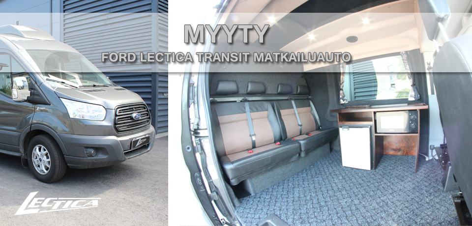 Myyty: Ford Transit Lectica Retkeilyauto 1+1+4