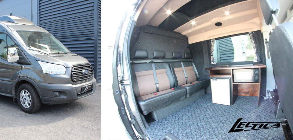 Myyty: Ford Transit Lectica Retkeilyauto 1+1+4