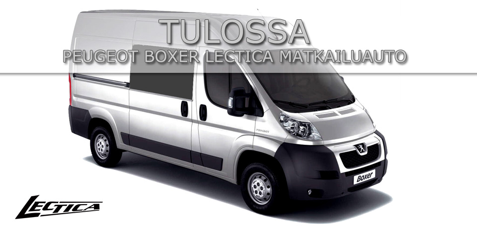 Tulossa: Peugeot Boxer Lectica Matkailuauto