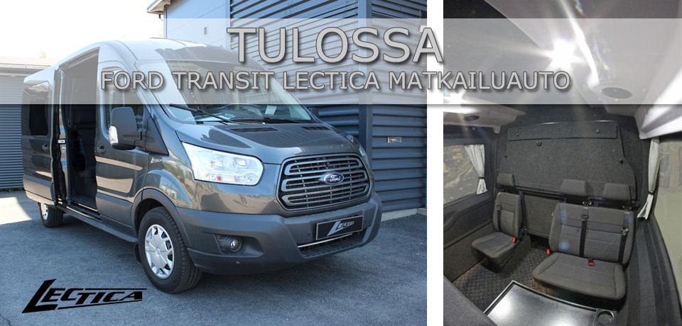 Tulossa: Lectica Transit Retkeilyauto