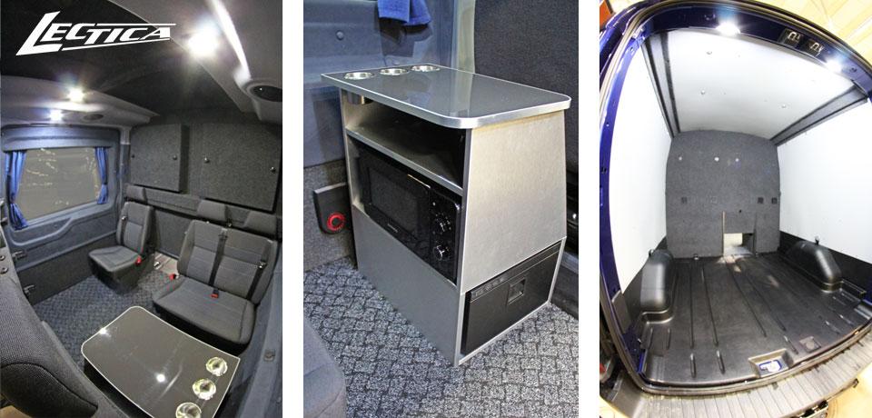 Myytävänä: Lectica Transit Retkeilyauto