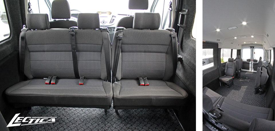 Myytävänä: Ford Transit Esteetön 1+1+7/13