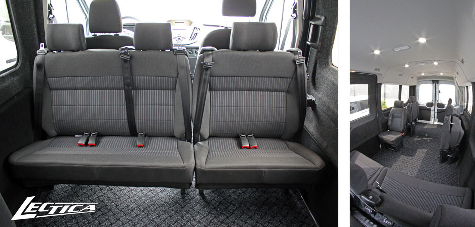 Myyty: Ford Transit Esteetön 1+1+7/13